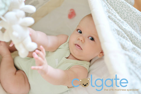 happy baby on crib mattress