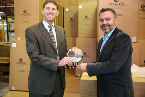 Dennis Wolkin Faces of Manufacturing Award Colgate Mattress
