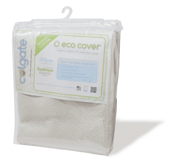 Organic Cotton Fitted Crib Mattress Cover