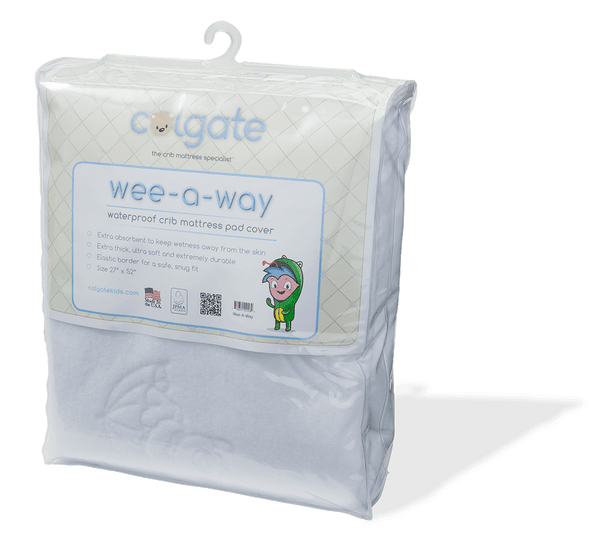 Wee A Way Waterproof Fitted Crib Mattress Cover Colgate