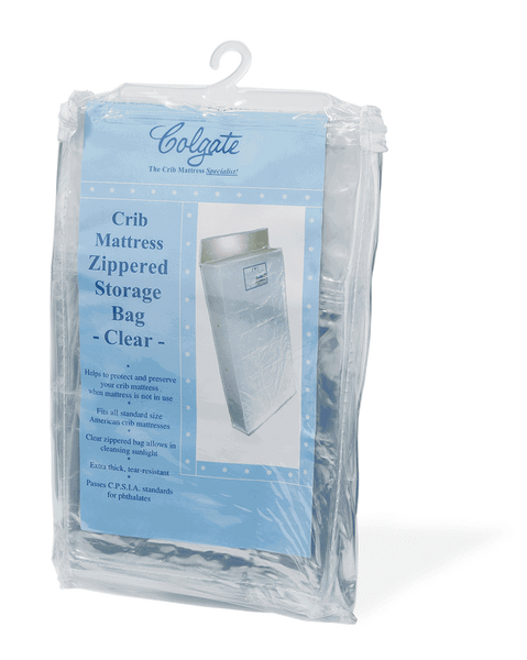 Zippered Crib Mattress Storage Bag
