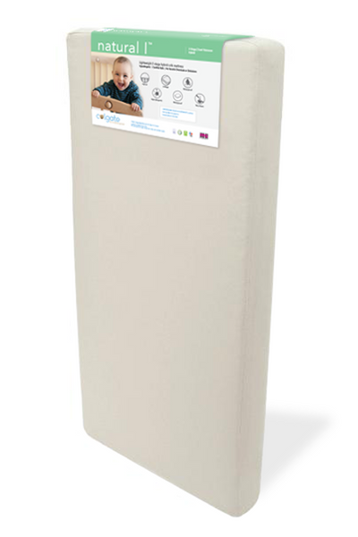 Standing Image of Natural I Crib Mattress