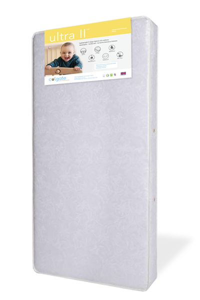 Angled View of Ultra II Crib Mattress