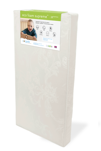Eco Foam Supreme Crib Mattress