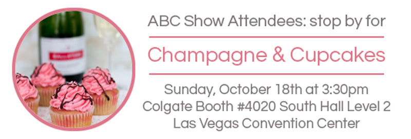 Stop by for Champagne and Cupcakes