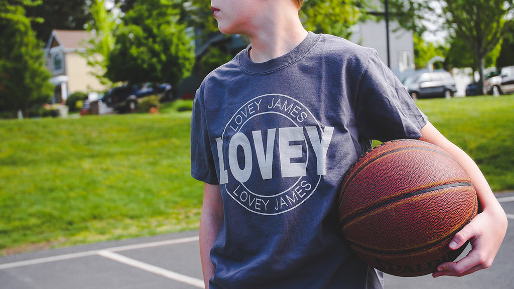 Lovey Stamp Youth Shirt