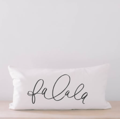 Falala Lumbar Pillow Cover