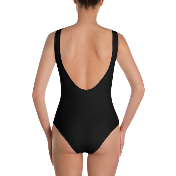 """Babe"" One-Piece Swimsuit"