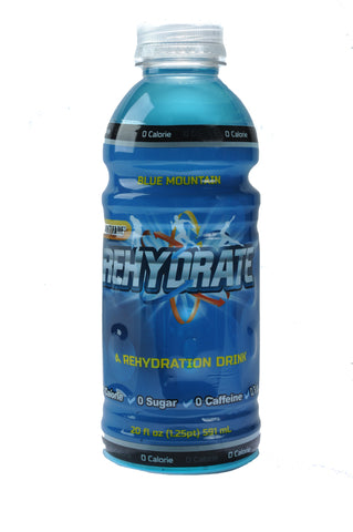 4 Pack of Blue Mountain Rehydrate - 20 oz