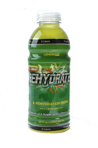 8 Pack of Lemonade Rehydrate - 20 oz