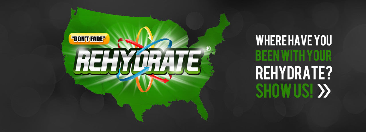 Show us Where You Rehydrate!