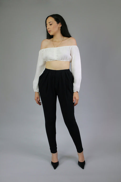 SELENA TAPERED TROUSERS