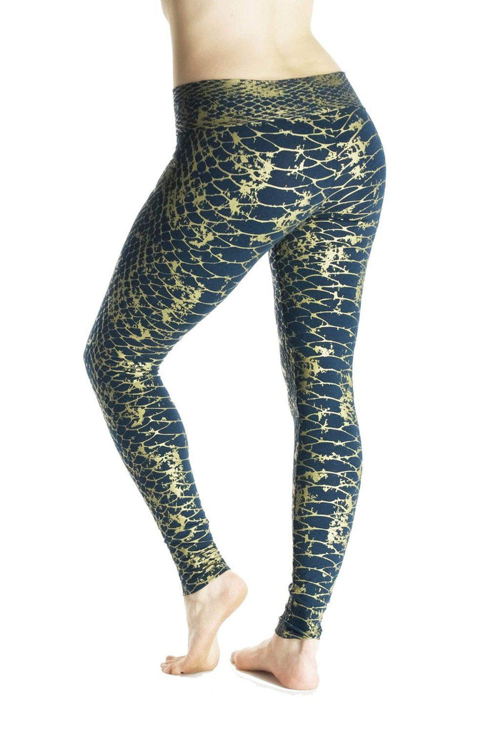 Indira Tights with Reptilia Print