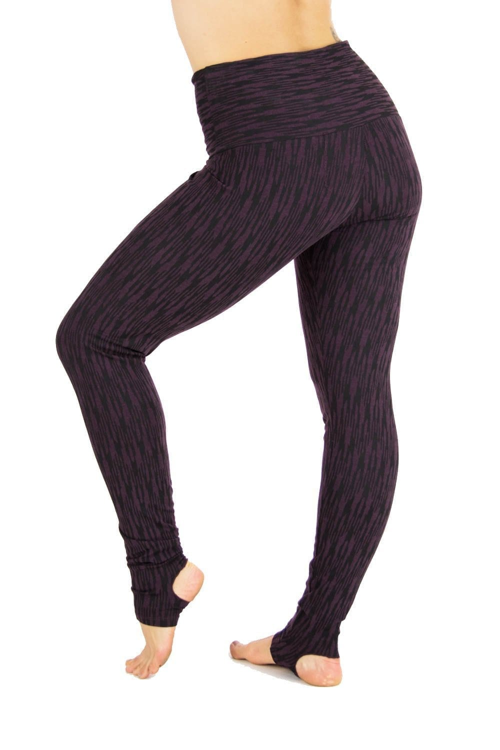 Anu High Waisted Tights with Ikat Print