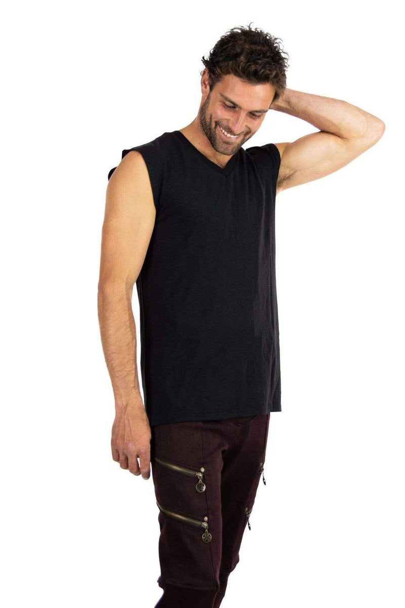 Vasu Men's V-Neck Tank