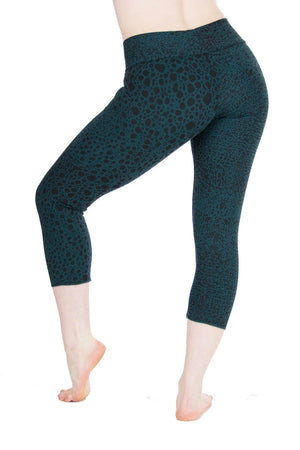 Malaya Yoga Tights with Leopard Print