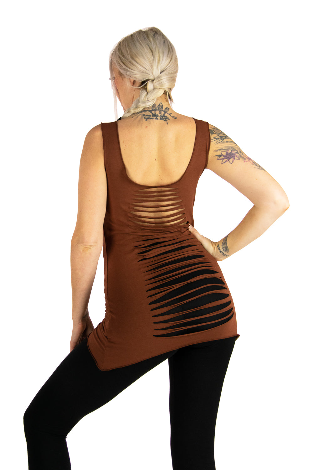 Dragonfly Tank with Slit Back