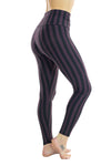 Indira Tights - High Waisted - Striped
