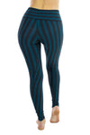 Indira Tights with stripes - horizontal Waistband