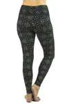 Indira Tights with Chandra Print