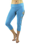 Malaya Yoga Tights with Braided Leg