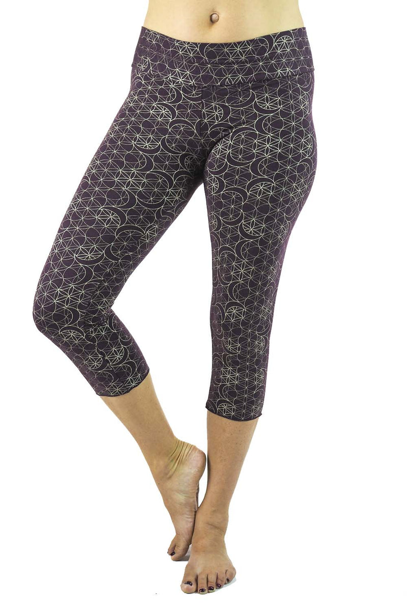 Malaya Yoga Tights with Chandra Print