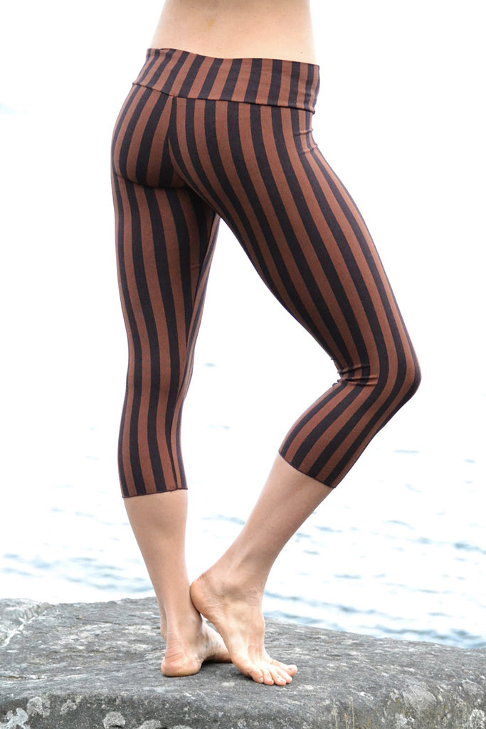 Malaya Yoga Tights - Striped