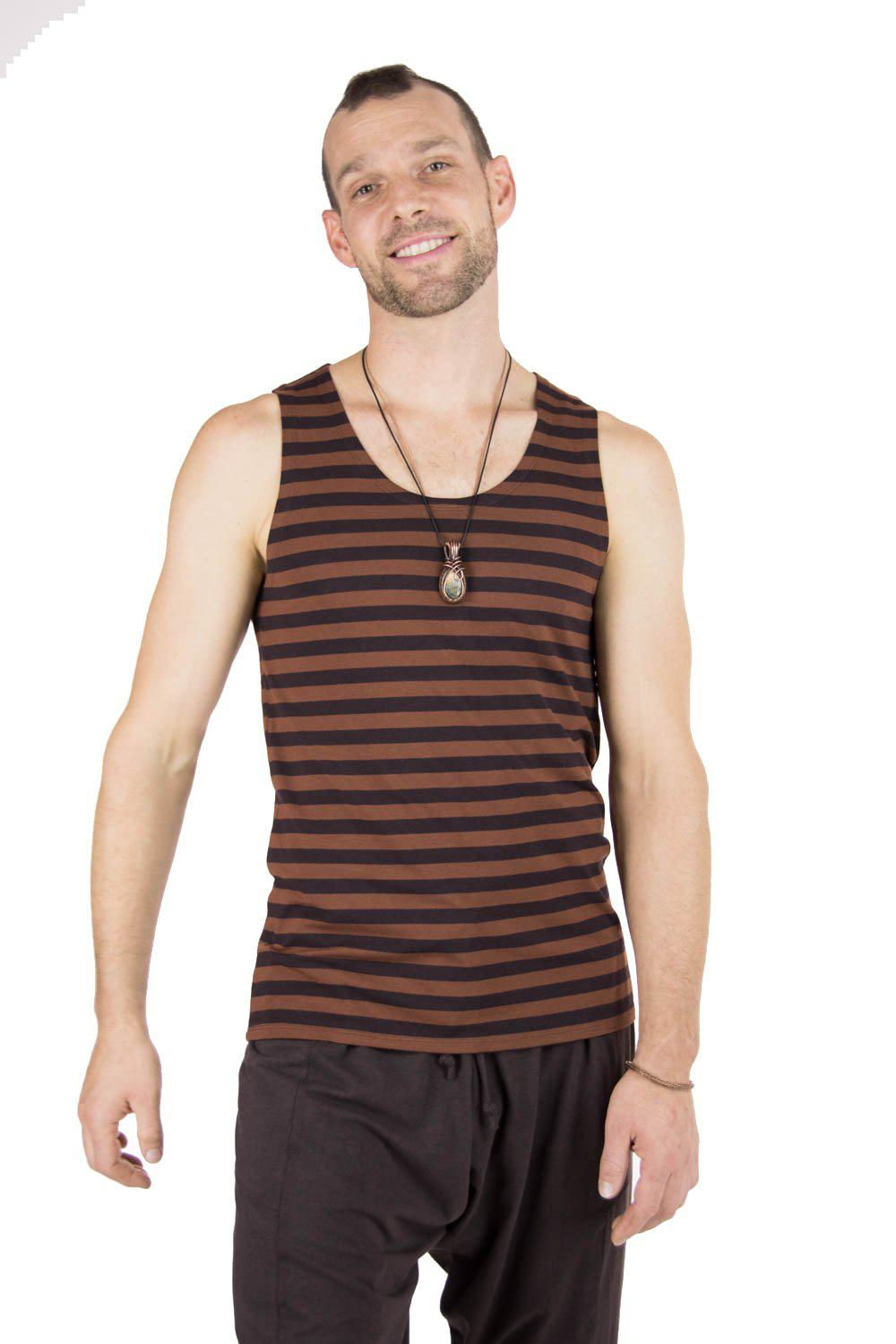 Men's Sailor Tank with Stripes