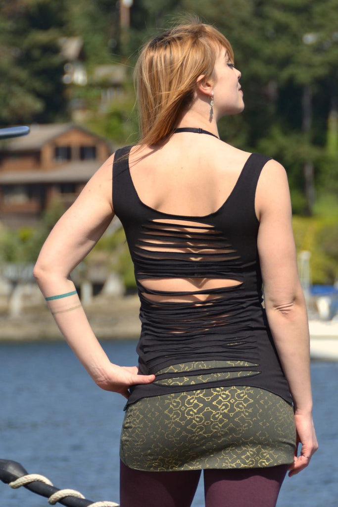 Dragonfly Tank - Slit Back