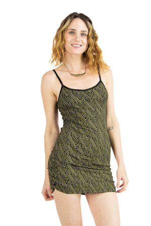 Anabelle Tank with Deco Arrow Print