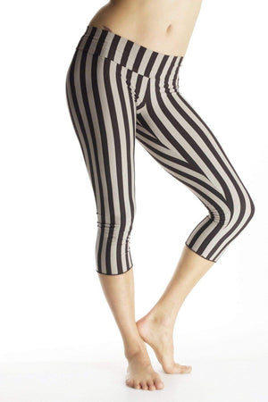 Malaya Yoga Tights with Stripes