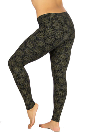 Indira Tights with Amazonia Print