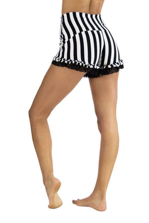 Bryanna Bootyshorts - Striped