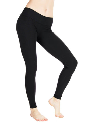 Indira Tights - plain Jersey - High Waisted