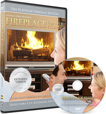 Fireplace For Your Home Extended Platinum Edition DVD Disc #10