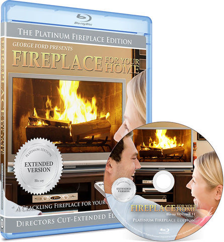 Fireplace For Your Home: Extended Platinum Edition Blu-ray Disc #11