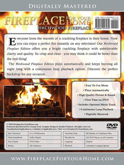 Fireplace For Your Home: Birchwood Edition DVD Disc #12 - Fireplace For Your Home