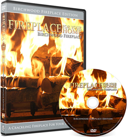 Fireplace For Your Home: Birchwood Fireplace Edition DVD Disc #12