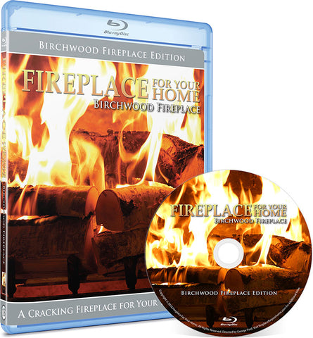 Fireplace For Your Home: Birchwood Fireplace Edition Blu-ray Disc #13