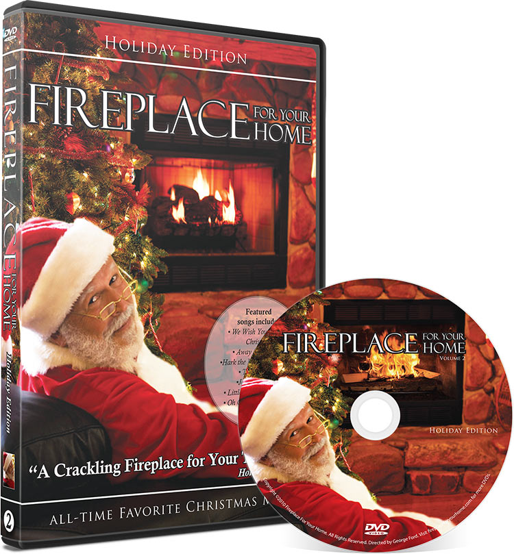 Fireplace For Your Home: Holiday Edition DVD Disc #2 - Fireplace For Your Home