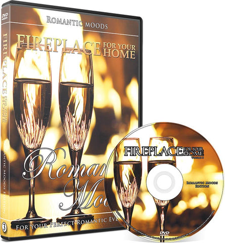 Fireplace For Your Home Romantic Moods DVD Disc #3
