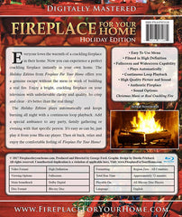 Fireplace For Your Home: Holiday Edition Blu-ray Disc #4 - Fireplace For Your Home