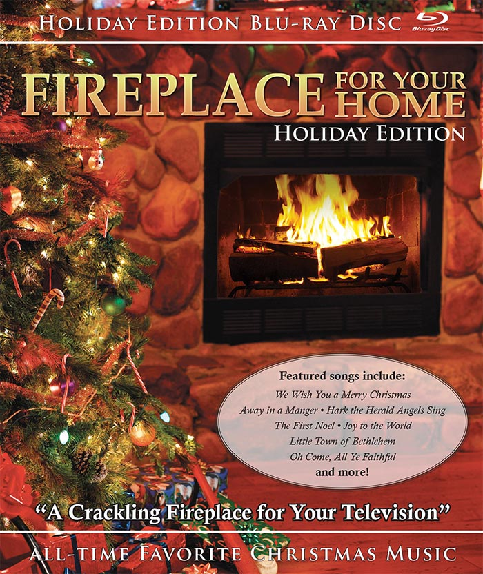 Fireplace Christmas Music.Fireplace For Your Home Holiday Edition Blu Ray Disc 4