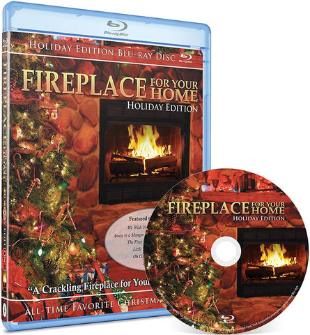 Fireplace For Your Home: Holiday Edition Blu-ray Disc #4