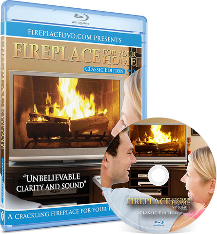 Fireplace For Your Home: Classic Edition Blu-ray Disc #5