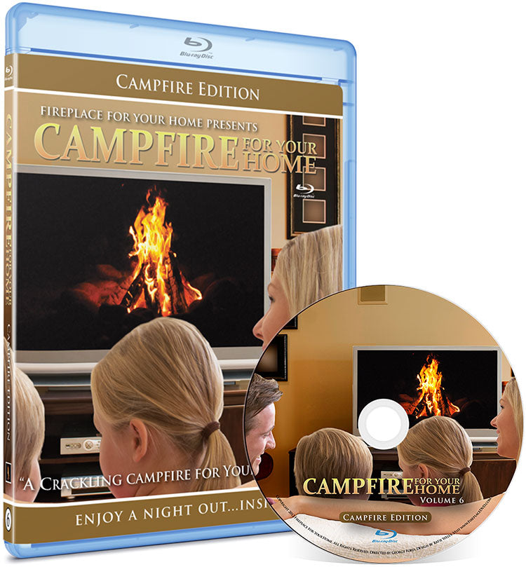 Campfire For Your Home Presents: Campfire Edition Blu-ray Disc #6 - Fireplace For Your Home