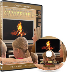 Campfire For Your Home Presents: Campfire Edition DVD Disc #7 - Fireplace For Your Home