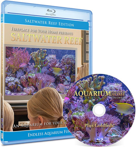 Aquarium For Your Home Presents: Saltwater Reef Blu-ray Disc #8