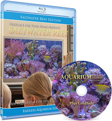 Aquarium For Your Home Presents: Saltwater Reef Blu-ray Disc #8 - Fireplace For Your Home
