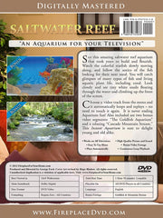 Aquarium For Your Home Presents: Saltwater Reef DVD Disc #9 - Fireplace For Your Home